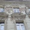 Ремонт фасада на ул. Земленый Вал.